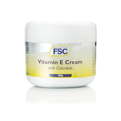 FSC - Vitamin E Cream 100g  normal rsp £5.40