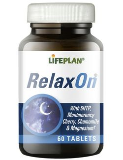 Lifeplan - Relaxon 60 tablets with 5htp