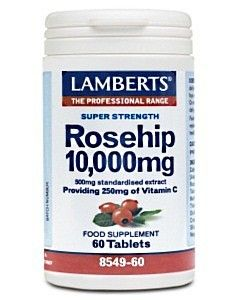 Rosehip 10,000mg 1 day 60 tablets (Rich in Vit C) - Rsp £11.99 special £10.99